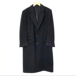 Men's Italian Made Cashmere Top Coat Size 50R